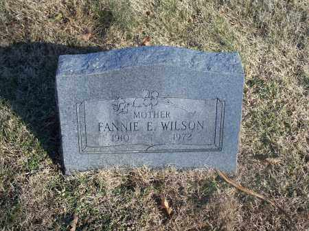 WILSON, FANNIE E. - Washington County, Arkansas | FANNIE E. WILSON - Arkansas Gravestone Photos