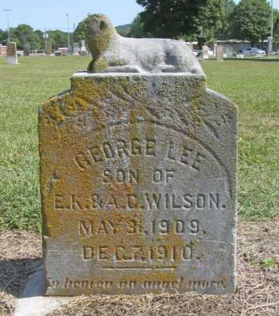 WILSON, GEORGE LEE - Washington County, Arkansas | GEORGE LEE WILSON - Arkansas Gravestone Photos