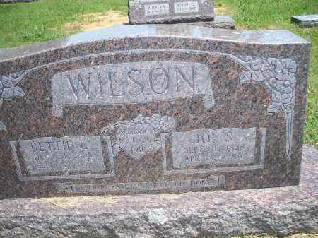 WILSON, JOE S. - Washington County, Arkansas | JOE S. WILSON - Arkansas Gravestone Photos