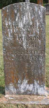 WILSON, PAULINE J. - Washington County, Arkansas | PAULINE J. WILSON - Arkansas Gravestone Photos