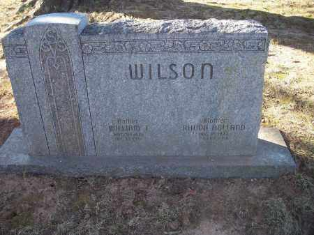 WILSON, RHODA - Washington County, Arkansas | RHODA WILSON - Arkansas Gravestone Photos