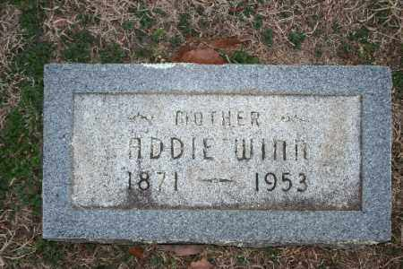 WINN, ADDIE - Washington County, Arkansas | ADDIE WINN - Arkansas Gravestone Photos