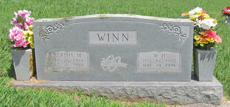 WINN, BERTHA M - Washington County, Arkansas | BERTHA M WINN - Arkansas Gravestone Photos