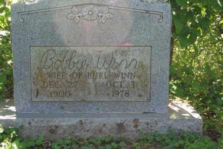 WINN, BOBBIE - Washington County, Arkansas | BOBBIE WINN - Arkansas Gravestone Photos