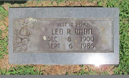 WINN, LEO R - Washington County, Arkansas | LEO R WINN - Arkansas Gravestone Photos