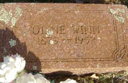 WINN, OLINE - Washington County, Arkansas | OLINE WINN - Arkansas Gravestone Photos