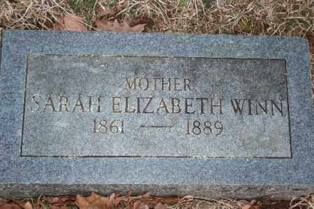 WINN, SARAH ELIZABETH - Washington County, Arkansas | SARAH ELIZABETH WINN - Arkansas Gravestone Photos