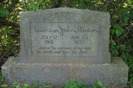 WINN, VIVIAN JULIA - Washington County, Arkansas | VIVIAN JULIA WINN - Arkansas Gravestone Photos