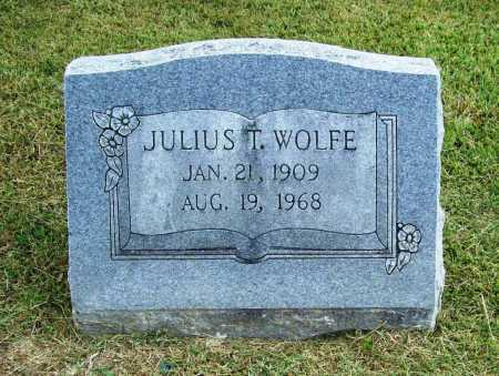WOLFE, JULIUS T. - Washington County, Arkansas | JULIUS T. WOLFE - Arkansas Gravestone Photos