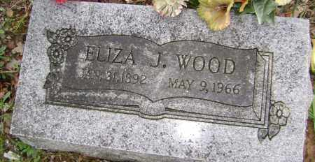 WOOD, ELIZA J - Washington County, Arkansas | ELIZA J WOOD - Arkansas Gravestone Photos