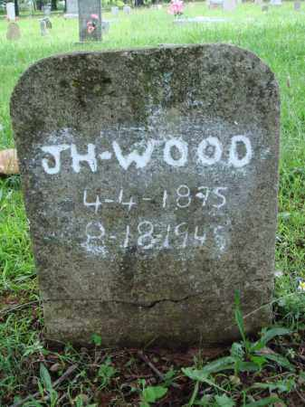 WOOD, J. H. - Washington County, Arkansas | J. H. WOOD - Arkansas Gravestone Photos