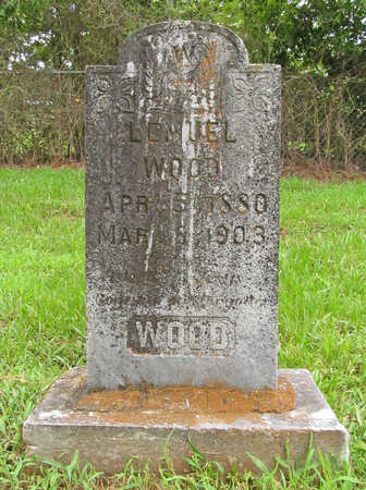 WOOD, LEMUEL - Washington County, Arkansas | LEMUEL WOOD - Arkansas Gravestone Photos