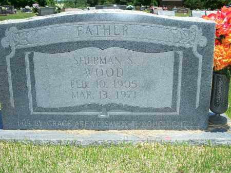 WOOD, SHERMAN S. - Washington County, Arkansas | SHERMAN S. WOOD - Arkansas Gravestone Photos