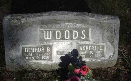 WOODS, ROBERT L. - Washington County, Arkansas | ROBERT L. WOODS - Arkansas Gravestone Photos