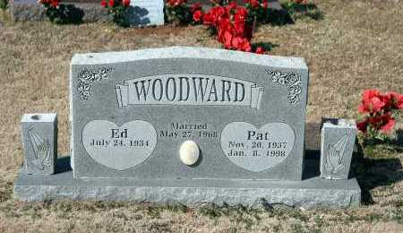 WOODWARD, PAT - Washington County, Arkansas | PAT WOODWARD - Arkansas Gravestone Photos