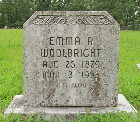 WOOLBRIGHT, EMMA R - Washington County, Arkansas | EMMA R WOOLBRIGHT - Arkansas Gravestone Photos