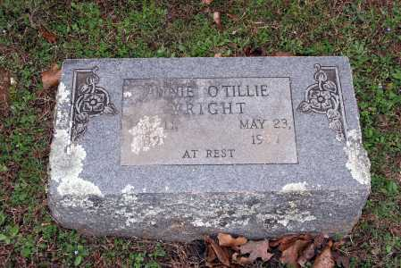 WRIGHT, ANNIE O'TILLIE - Washington County, Arkansas | ANNIE O'TILLIE WRIGHT - Arkansas Gravestone Photos