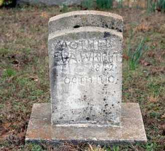 WRIGHT, EVA - Washington County, Arkansas | EVA WRIGHT - Arkansas Gravestone Photos