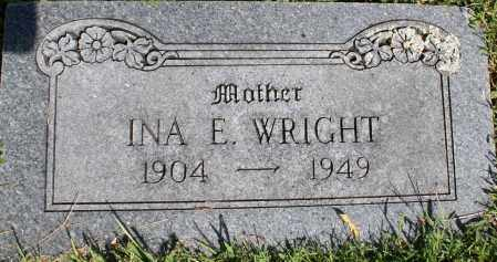 WRIGHT, INA E. - Washington County, Arkansas | INA E. WRIGHT - Arkansas Gravestone Photos