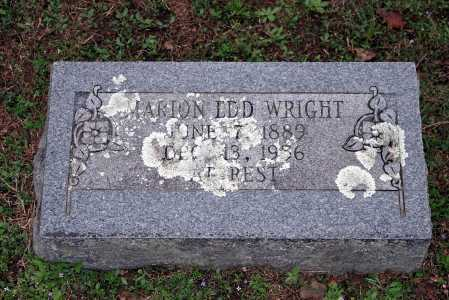 WRIGHT, MARION EDD - Washington County, Arkansas | MARION EDD WRIGHT - Arkansas Gravestone Photos
