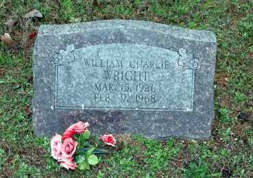 WRIGHT, WILLIAM CHARLIE - Washington County, Arkansas | WILLIAM CHARLIE WRIGHT - Arkansas Gravestone Photos