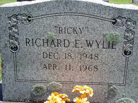 "WYLIE, RICHARD E ""RICKY"" - Washington County, Arkansas 