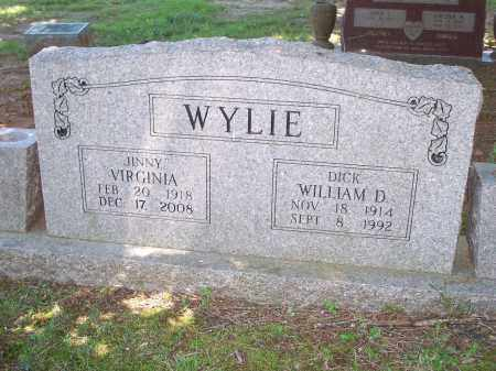 "WYLIE, WILLIAM D ""DICK"" - Washington County, Arkansas 