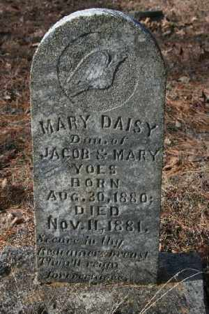 YOES, MARY DAISY - Washington County, Arkansas | MARY DAISY YOES - Arkansas Gravestone Photos
