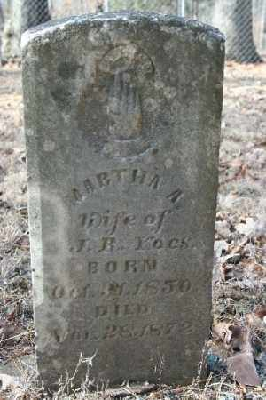 YOES, MARTHA A - Washington County, Arkansas | MARTHA A YOES - Arkansas Gravestone Photos