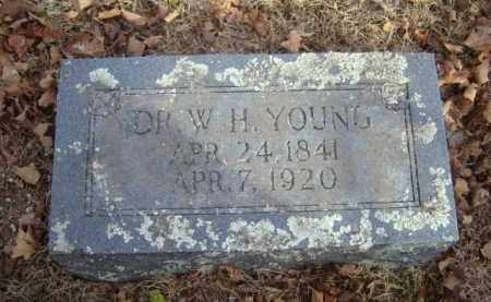 YOUNG, DR. W.H. - Washington County, Arkansas | DR. W.H. YOUNG - Arkansas Gravestone Photos