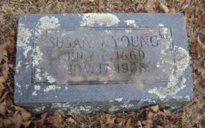 YOUNG, SUSAN J. - Washington County, Arkansas | SUSAN J. YOUNG - Arkansas Gravestone Photos
