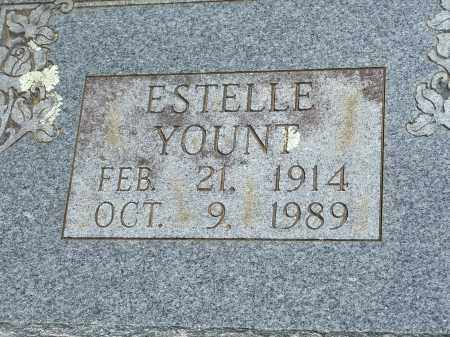 YOUNT, ESTELLE - Washington County, Arkansas | ESTELLE YOUNT - Arkansas Gravestone Photos