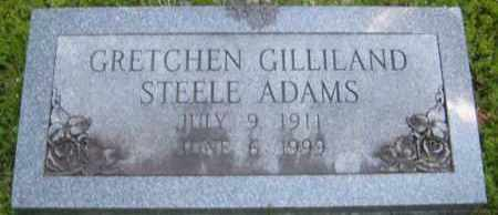GILLILAND STEELE, GRETCHEN - Washington County, Arkansas | GRETCHEN GILLILAND STEELE - Arkansas Gravestone Photos