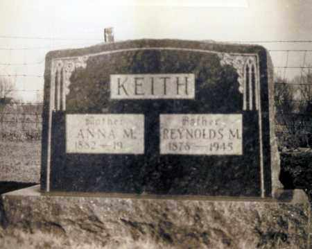 KEITH, REYNOLDS M. - Washington County, Arkansas | REYNOLDS M. KEITH - Arkansas Gravestone Photos