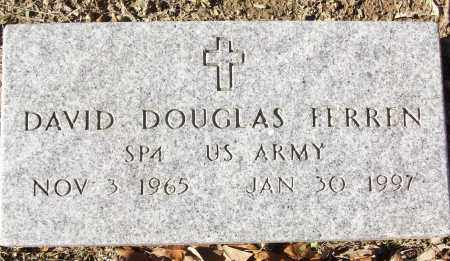 PERREN (VETERAN), DAVID DOUGLAS - White County, Arkansas | DAVID DOUGLAS PERREN (VETERAN) - Arkansas Gravestone Photos