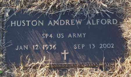 ALFORD (VETERAN), HUSTON ANDREW - White County, Arkansas | HUSTON ANDREW ALFORD (VETERAN) - Arkansas Gravestone Photos