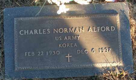 ALFORD (VETERAN KOR), CHARLES NORMAN - White County, Arkansas | CHARLES NORMAN ALFORD (VETERAN KOR) - Arkansas Gravestone Photos