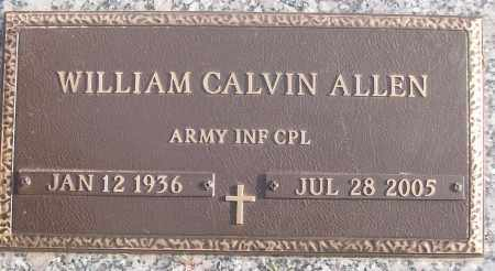 ALLEN (VETERAN), WILLIAM CALVIN - White County, Arkansas | WILLIAM CALVIN ALLEN (VETERAN) - Arkansas Gravestone Photos