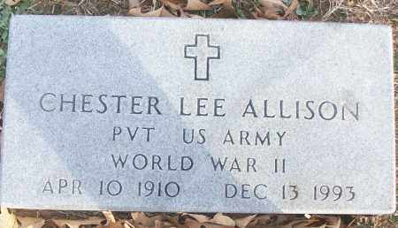 ALLISON (VETERAN WWII), CHESTER LEE - White County, Arkansas | CHESTER LEE ALLISON (VETERAN WWII) - Arkansas Gravestone Photos