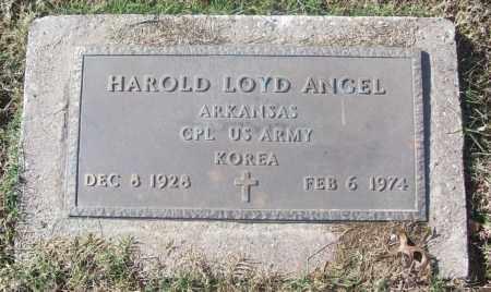 ANGEL  (VETERAN KOR), HAROLD LOYD - White County, Arkansas | HAROLD LOYD ANGEL  (VETERAN KOR) - Arkansas Gravestone Photos