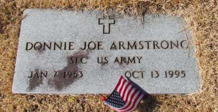 ARMSTRONG (VETERAN), DONNIE JOE - White County, Arkansas | DONNIE JOE ARMSTRONG (VETERAN) - Arkansas Gravestone Photos