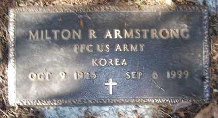 ARMSTRONG (VETERAN KOR), MILTON R - White County, Arkansas | MILTON R ARMSTRONG (VETERAN KOR) - Arkansas Gravestone Photos