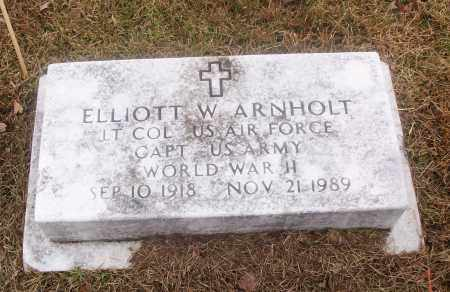 ARNHOLT  (VETERAN WWII), ELLIOTT W - White County, Arkansas | ELLIOTT W ARNHOLT  (VETERAN WWII) - Arkansas Gravestone Photos