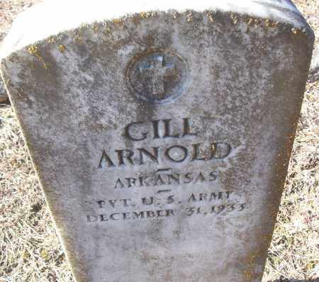 ARNOLD (VETERAN), GILL - White County, Arkansas | GILL ARNOLD (VETERAN) - Arkansas Gravestone Photos