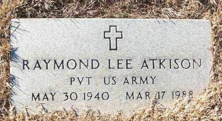 ATKINSON (VETERAN), RAYMOND LEE - White County, Arkansas | RAYMOND LEE ATKINSON (VETERAN) - Arkansas Gravestone Photos