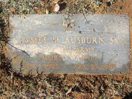 AUSBURN, SR (VETERAN WWII), JAMES M - White County, Arkansas | JAMES M AUSBURN, SR (VETERAN WWII) - Arkansas Gravestone Photos
