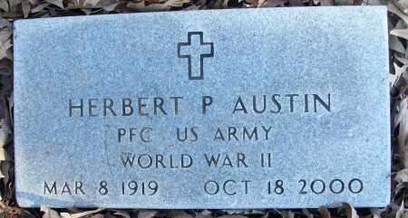 AUSTIN (VETERAN WWII), HERBERT P - White County, Arkansas | HERBERT P AUSTIN (VETERAN WWII) - Arkansas Gravestone Photos