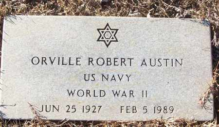 AUSTIN (VETERAN WWII), ORVILLE ROBERT - White County, Arkansas | ORVILLE ROBERT AUSTIN (VETERAN WWII) - Arkansas Gravestone Photos