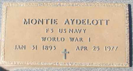AYDELOTT (VETERAN WWI), MONTIE - White County, Arkansas | MONTIE AYDELOTT (VETERAN WWI) - Arkansas Gravestone Photos