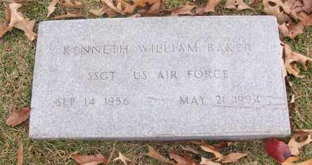 BAKER  (VETERAN), KENNETH WILLIAM - White County, Arkansas | KENNETH WILLIAM BAKER  (VETERAN) - Arkansas Gravestone Photos